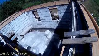 Строительство дома из газобетона 4. Армопояс(Долгожданный и муторный армопояс! Сколько возни с ним! Зато теперь наконец-то ощущается, что строительство..., 2015-07-15T17:06:34.000Z)