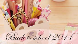 BACK TO SCHOOL 2014 || VUELTA AL COLE || MOCHILA, ESTUCHE, MATERIAL ESCOLAR... ♥ Tuchi Cuchi