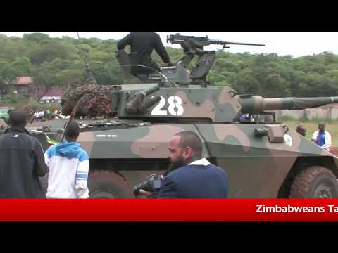 ZImbabweans march In Solidarity with ZDF #Mugabe