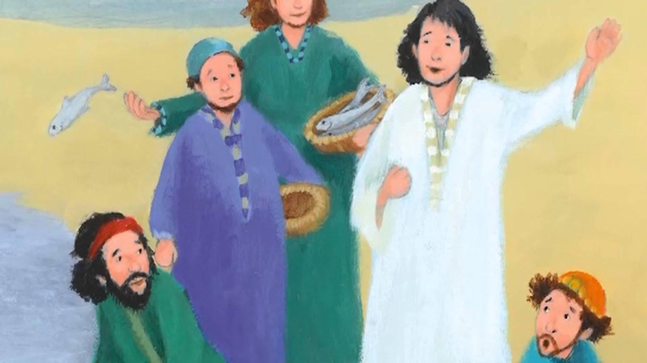 Kinderbibel Jesus Wird Getauft Neuest Testament
