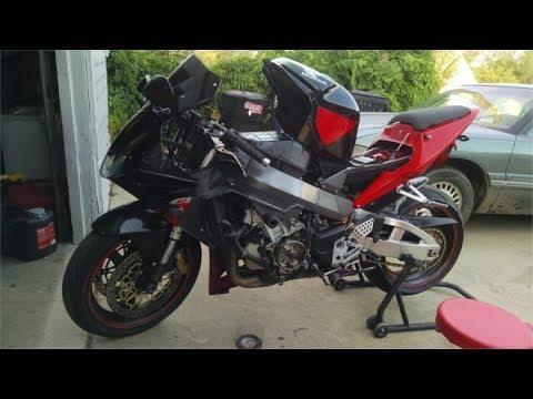 2002 Honda CBR954RR Stator and Regulator Replacement