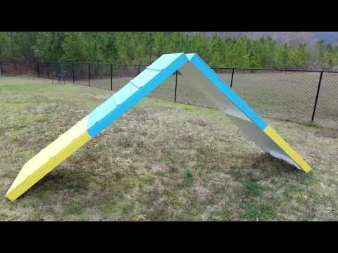 Build Dog Agility A Frame (Complete)