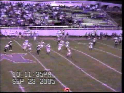 2005 WPIAL High School Football California at Monessen (full second half)