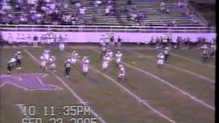 2005 WPIAL High School Football California at Monessen (full second half)