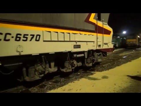 CC 6570 - En cabine d'Avignon à Marseille St Charles via Arles