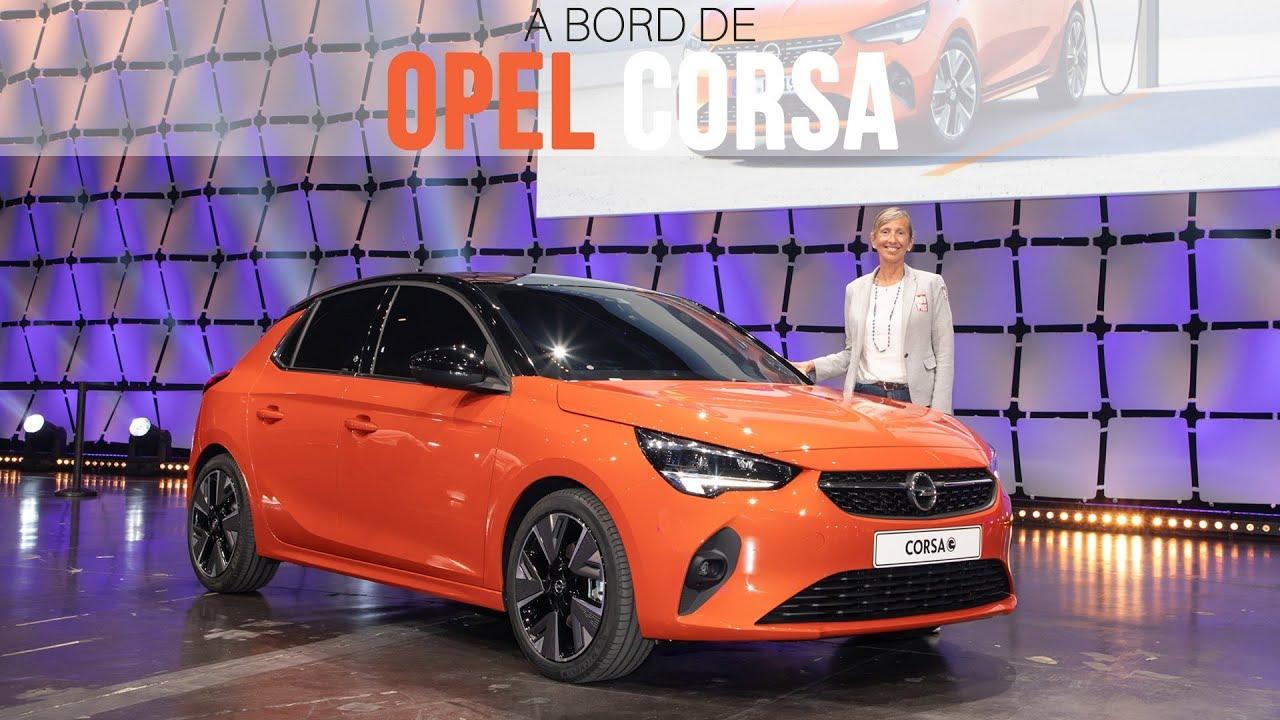 A Bord De L Opel Corsa 2019 Youtube