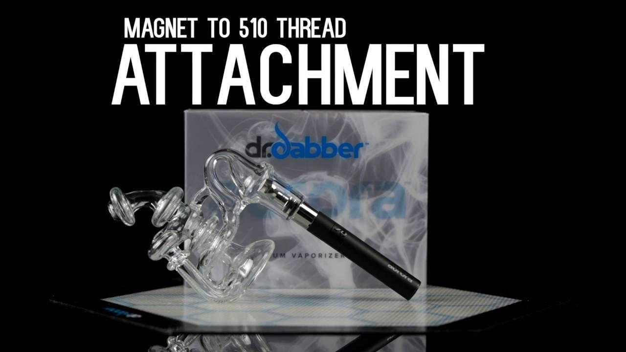 Dr Dabber - Aurora Magnet to 510 Thread Attachment