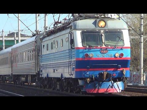 Электровоз ЧС2К-831 со скорым поездом № 119 Саранск-Москва.