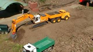 THE BEST RC CONSTRUCTION ZONE, BIG RC MACHINES AT WORK, RC BUILDING SIDE