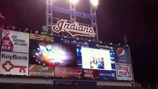 "Cleveland Indians Progressive Field 8th Inning Song: ""Hang On Sloopy"""