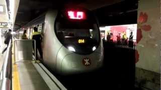 香港鉄路西鉄線SP1900形電車 紅磡駅発車