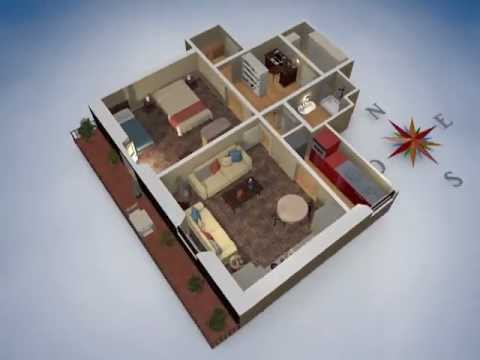 Planimetria 3d youtube for Piccole planimetrie di casa di tronchi