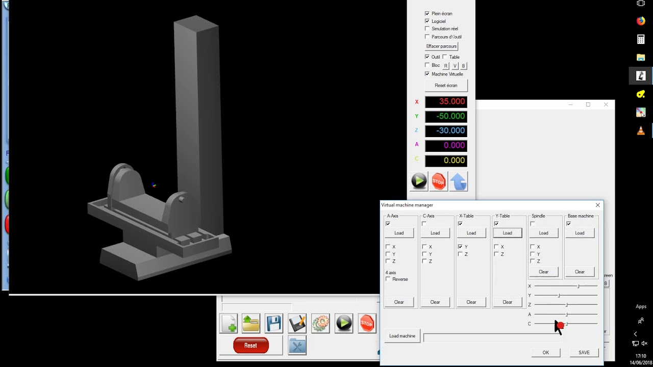 Mach3 5 axis kinematics plugin available