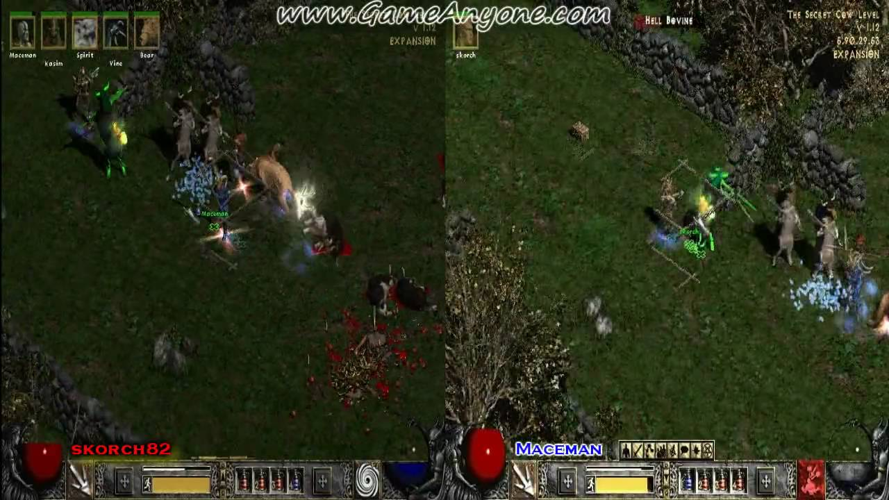 Diablo 2: LOD Co-Op Playthrough w/Commentary [PC][HD] - Secret Cow Level: A - Part 90: Moo Moo ...