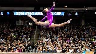 2016 AT&T American Cup - Full Broadcast - NBC(March 5, 2016 - Prudential Center - Newark, N.J. Hit that LIKE button to show your support for USA Gymnastics! SUBSCRIBE to the USA Gymnastics YouTube ..., 2016-03-15T14:05:33.000Z)
