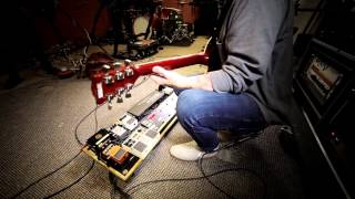Bring Me The Horizon - педалборд гитариста<