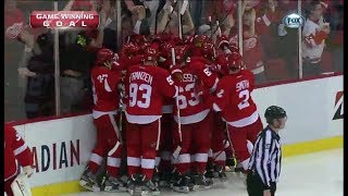 2013 Playoffs: Detroit Red Wings Goals