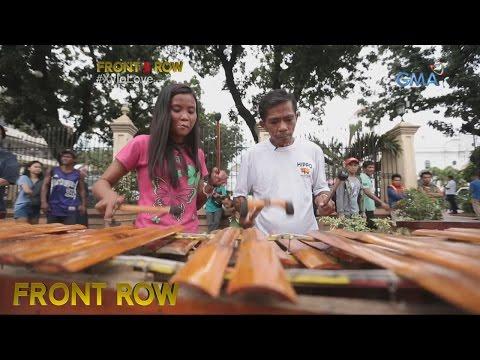 Front Row: Magkasintahang tumutugtog ng bamboo xylophone, kilalanin