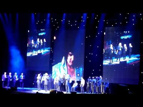 The Imperials and Stamps Elvis in Concert 35th Anniversary 2012 Fedex Forum.avi