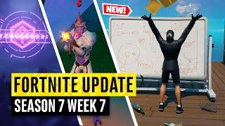 Fortnite | All Season 7 Map Updates and Hidden Secrets! WEEK 7