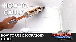 How to use decorators caulk
