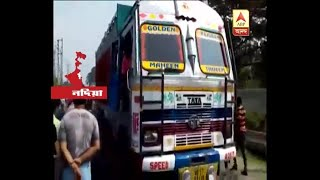 Ranaghat Bike-Lorry accident, couple died, 4 years old son condition critical