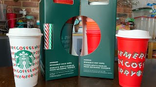 Starbucks Holiday Reusable Cups