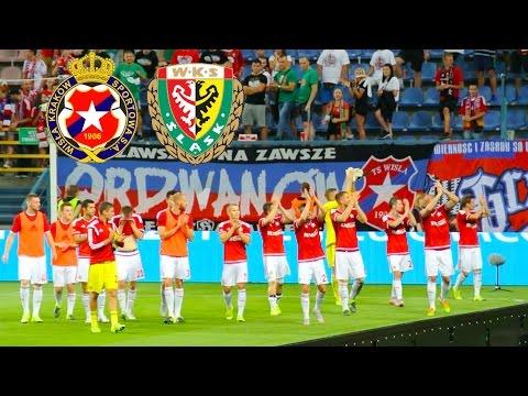 Wisla Krakow vs. Slask Wroclaw, Polish Ekstraklasa
