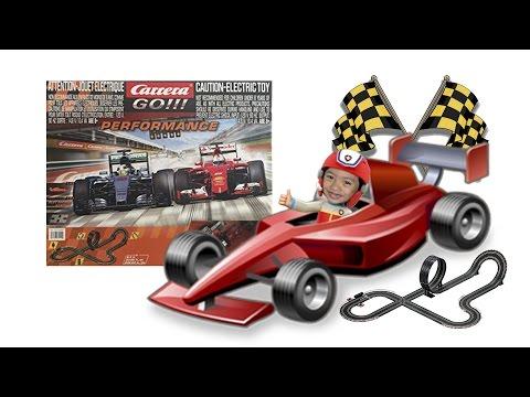 Carrera Go Slot Car – Amazing Kids Toys – RJ Fun Toys Formula 1 Slot Car Track Set