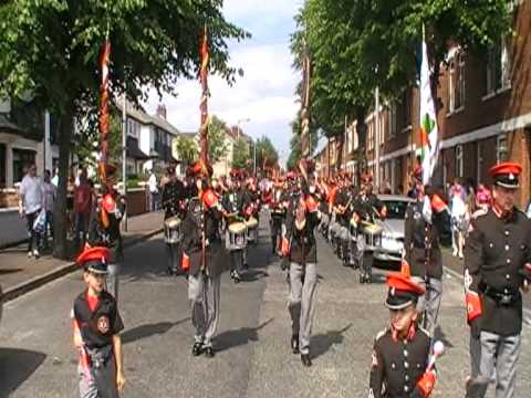Shankill Star Flute Band @ Whiterock Parade 2010 - Londonderry On The Foyle