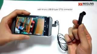 Spy camera connect to mobile phone