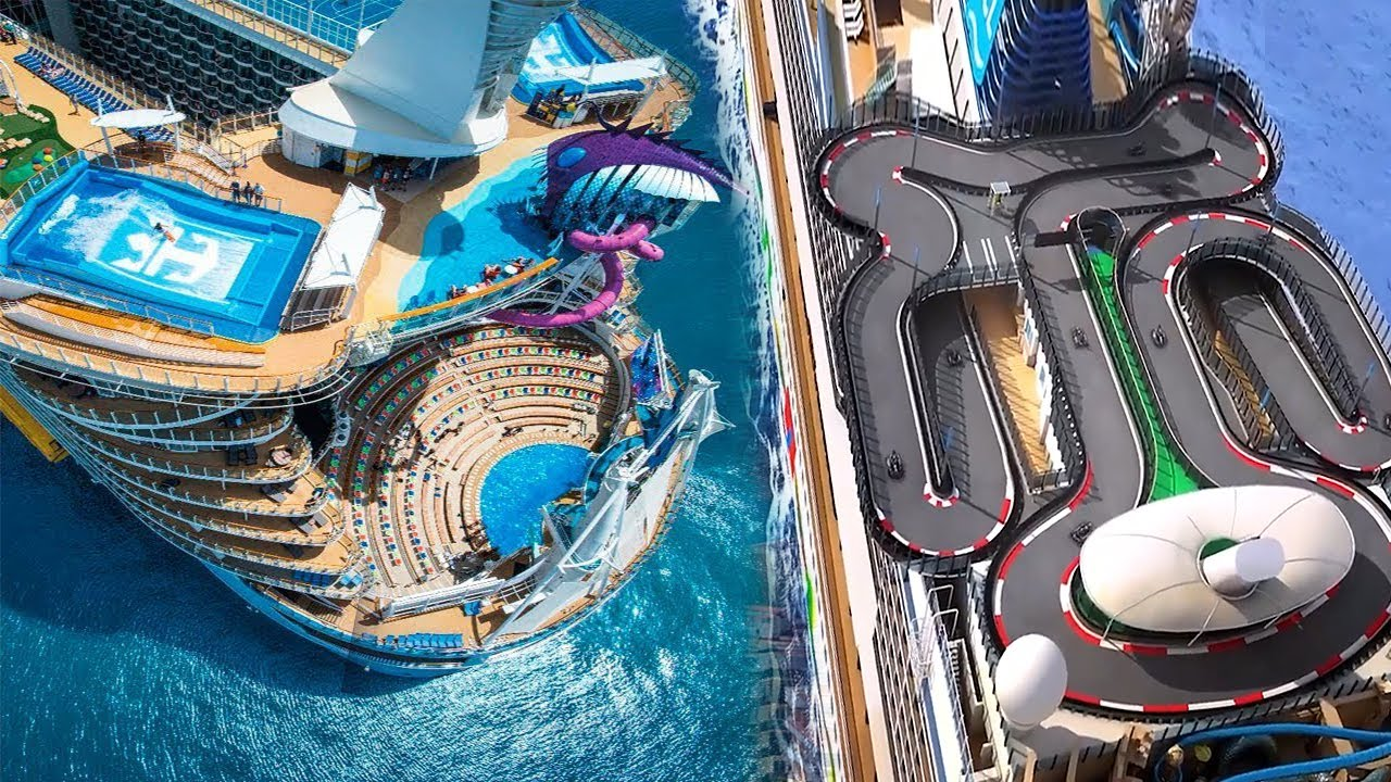 15 Incredible Cruise Ship Amenities
