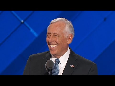 Rep. Steny Hoyer addresses DNC