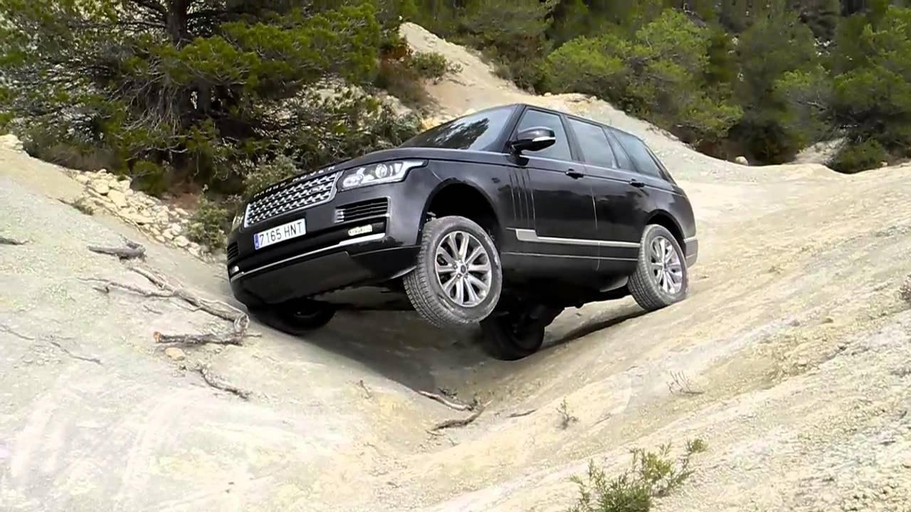 solo auto digital prueba range rover vogue 4 4 sdv8 off road youtube. Black Bedroom Furniture Sets. Home Design Ideas