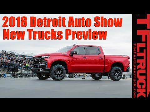 Most Interesting New Trucks! 2018 Detroit Auto Show Preview