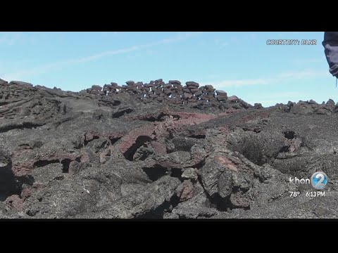 Four men receive cease & desist orders for illegal rock removal in Mauna Loa Forest Reserve