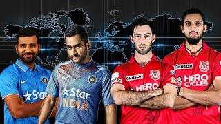 M.S. Dhoni & Rohit Sharma VS Glenn Maxwell & Ishant Sharma - -2-vs-2 Elimination Tag Team Match