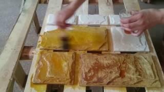 Изготовление искусственного камня 'Леон' своими руками Белгород Старый Оскол Губкин(В этом видео я покажу вам как красиво окрасить декоративный камень