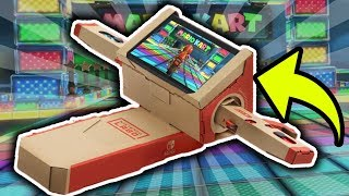 Making Rainbow Road with Nintendo Labo! Mario Kart 9?