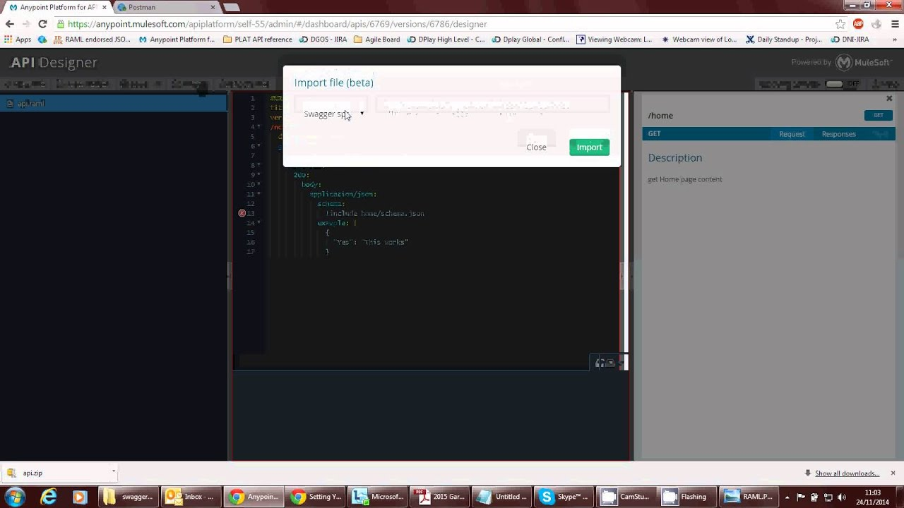 Quick analysis of mulesoft raml tooling vs swagger youtube quick analysis of mulesoft raml tooling vs swagger malvernweather Images