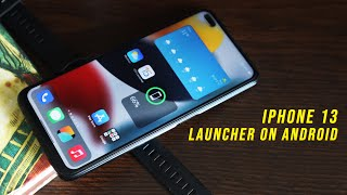 Get iPhone 13 Launcher (iOS 15) on Any Android Phone with widgets screenshot 5