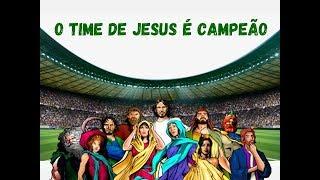 Esboço de Pregação: O TIME DE JESUS É CAMPEÃO   Pregação para época de jogos   Slides na descrição