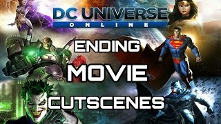 DC UNIVERSE ONLINE MOVIE  DCUO ALL CUTSCENES STORYLINE PC, PS4 AND XBOX1