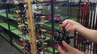 RYOBI VIRTUS 1000/2000/3000/4000/5000/6000 Lightweight Metal Fishing Spinning Reels