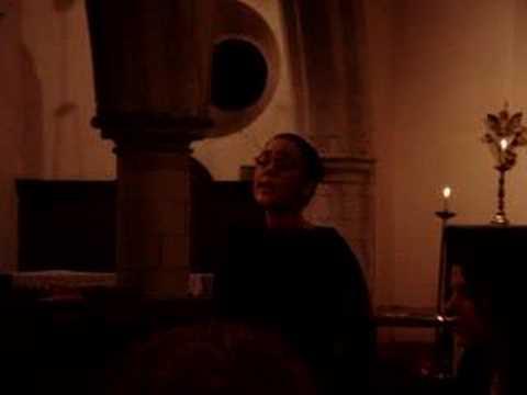 "Rachael singing ""Like a Prayer"""