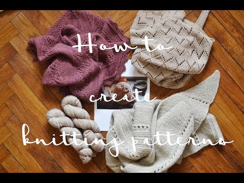 How To Create A Knitting Pattern In 10 Steps Youtube