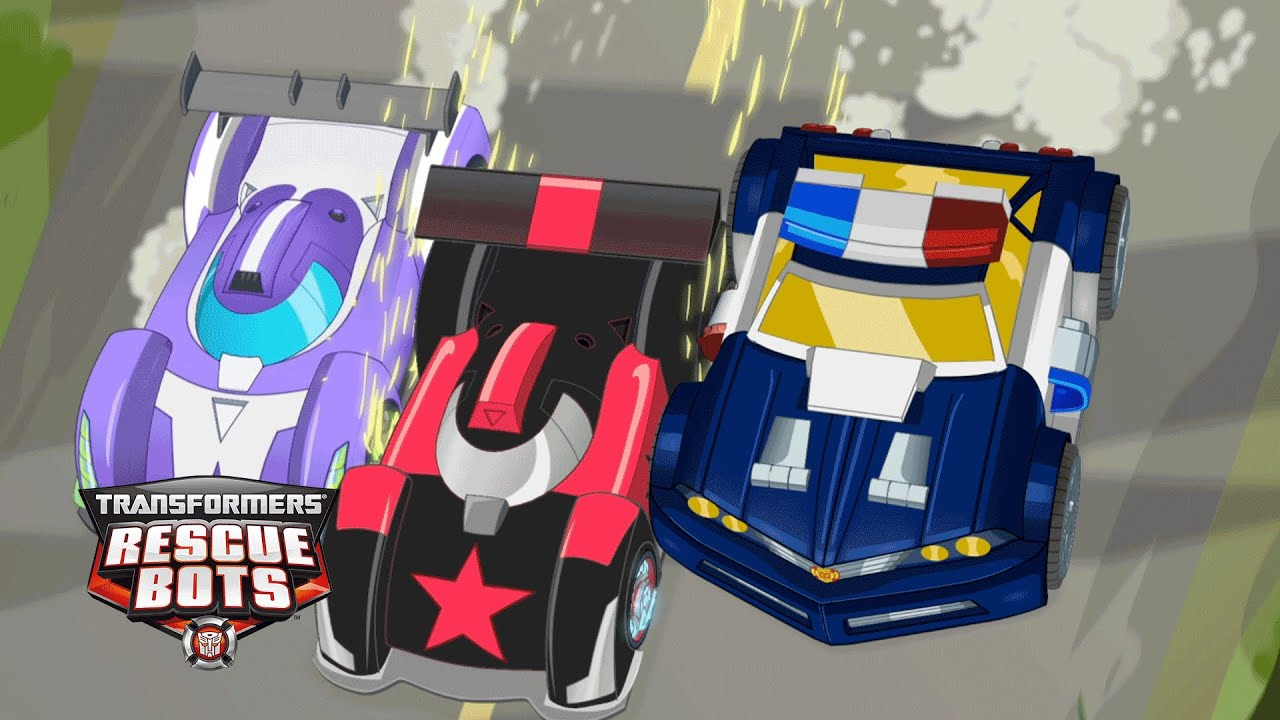 Transformers rescue bots race to the official