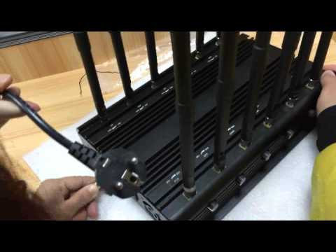 12Antennas All Bands All frequency cell phone Jammer RF Jammer