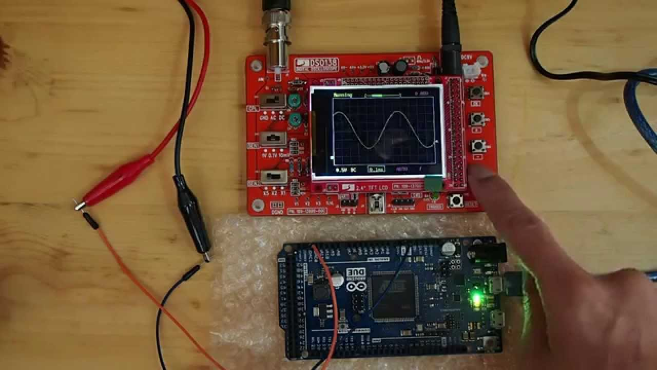 Generate sin wave on Arduino Due