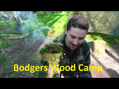 Camp in Bodgers Wood with Zed, Mike and Friends